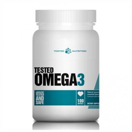 Omega 3 100 softgels Tested Nutrition